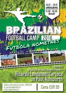 Brazilian Football Campus 2016
